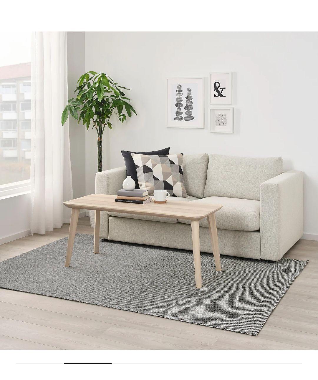 IKEA: Tapete natural/hueso 120x180 cm de $999 a $299