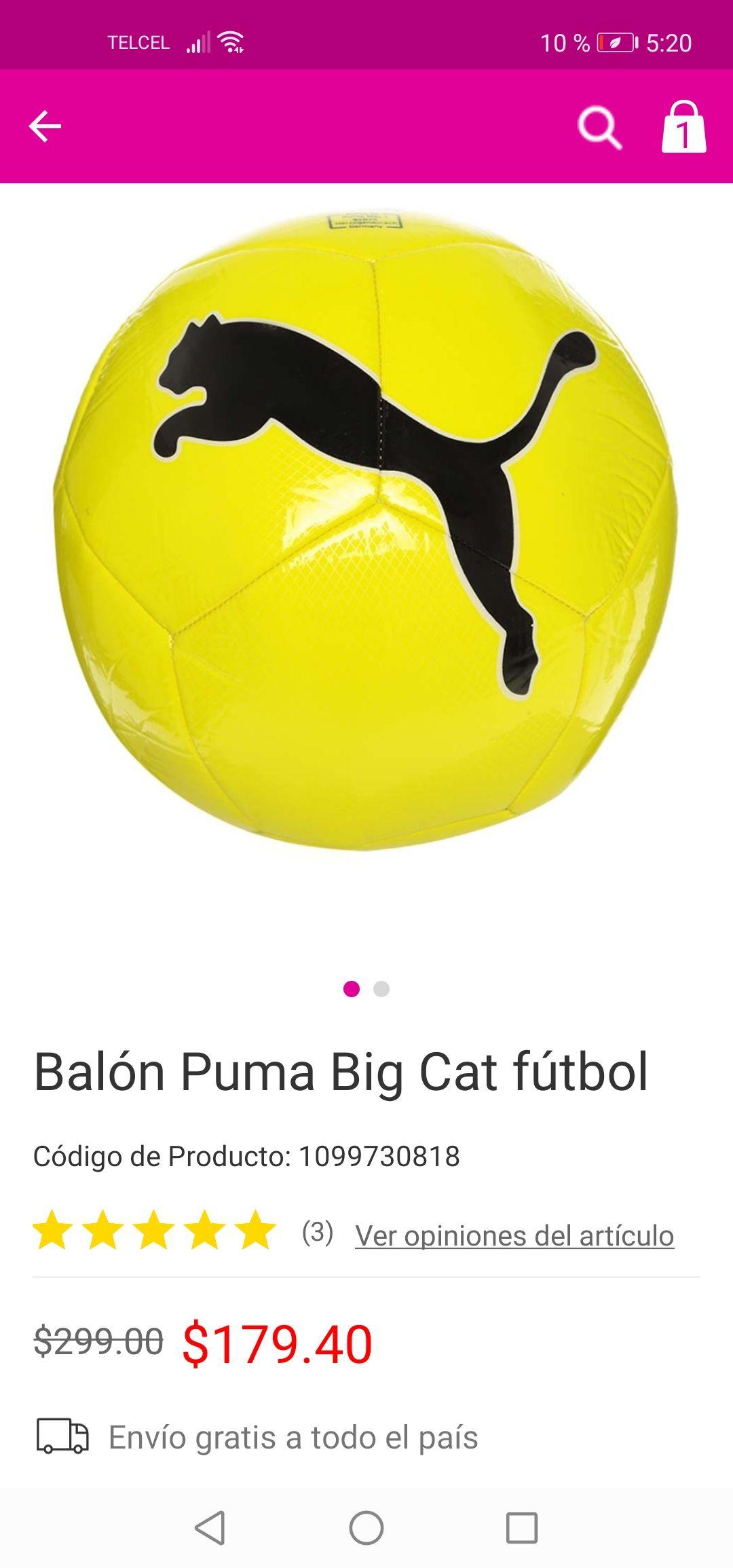 Liverpool: Balón puma size 5