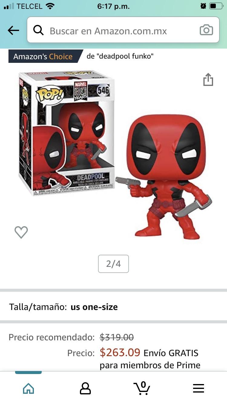 Amazon: Funko Marvel: First Appearance - Deadpook
