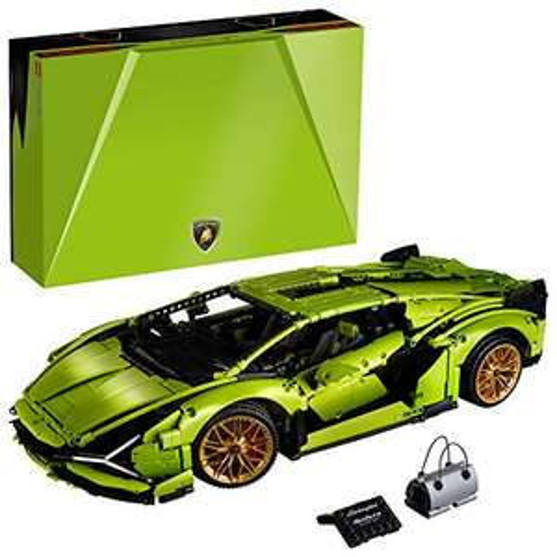 Amazon: LEGO Kit de construcción de Modelo de Auto Technic™ 42115 Lamborghini Sián FKP 37 (3696 Piezas)