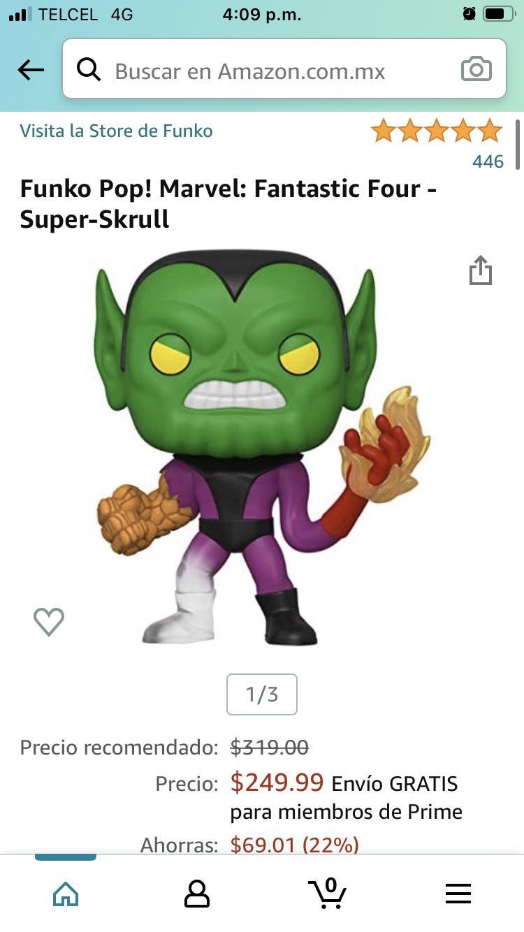 Amazon: Funko Pop! Marvel: Fantastic Four - Super-Skrull