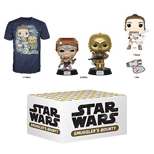 Amazon: Funko Star Wars Smuggler's Bounty Caja de suscripción, Adventures of Kijimi, diciembre 2019, Playera 3XL