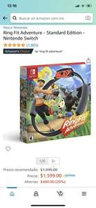 Amazon: Ring Fit Adventure Switch