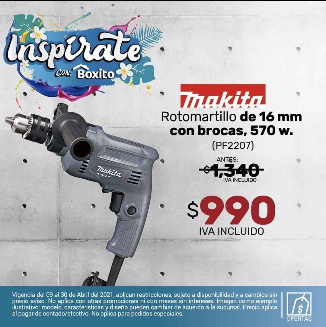 Tiendas Boxito: ROTOMARTILLO 16MM 5/8 CON BROCA MODELO M0801G