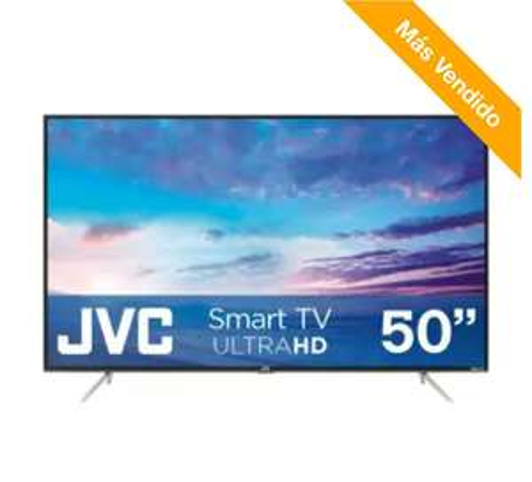 Sam's Club: Pantalla JVC 50 Pulgadas UHD 4K Smart Roku