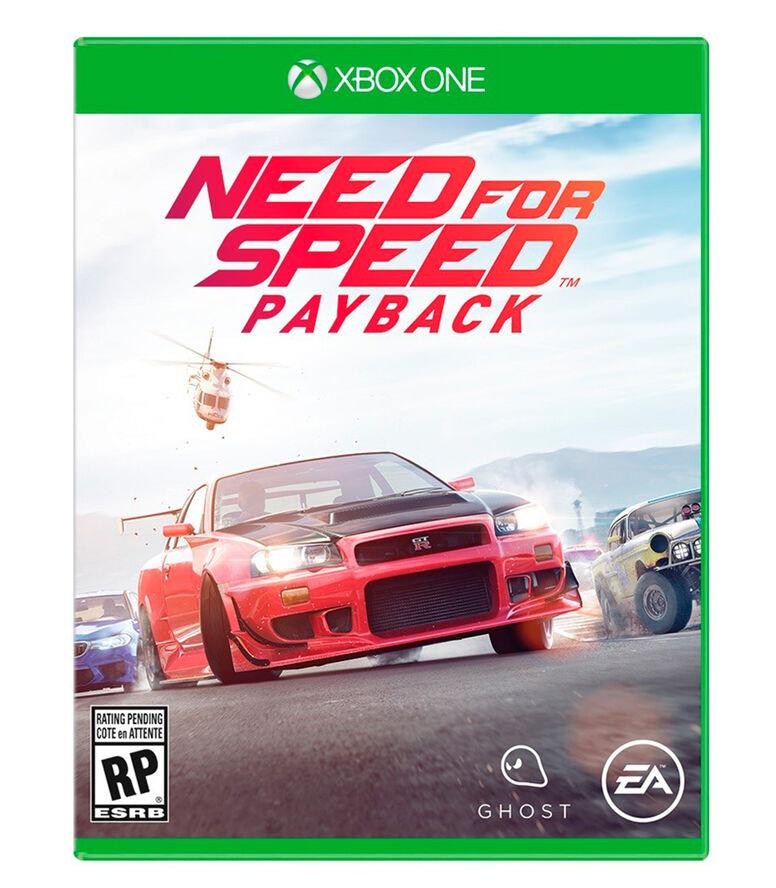 Palacio de Hierro: Need For Speed Payback xbox