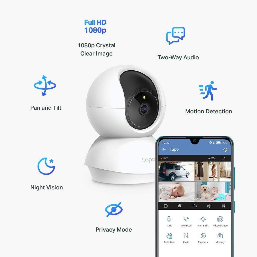 Amazon: TP-Link Tapo C200, cámara Wi-Fi de seguridad