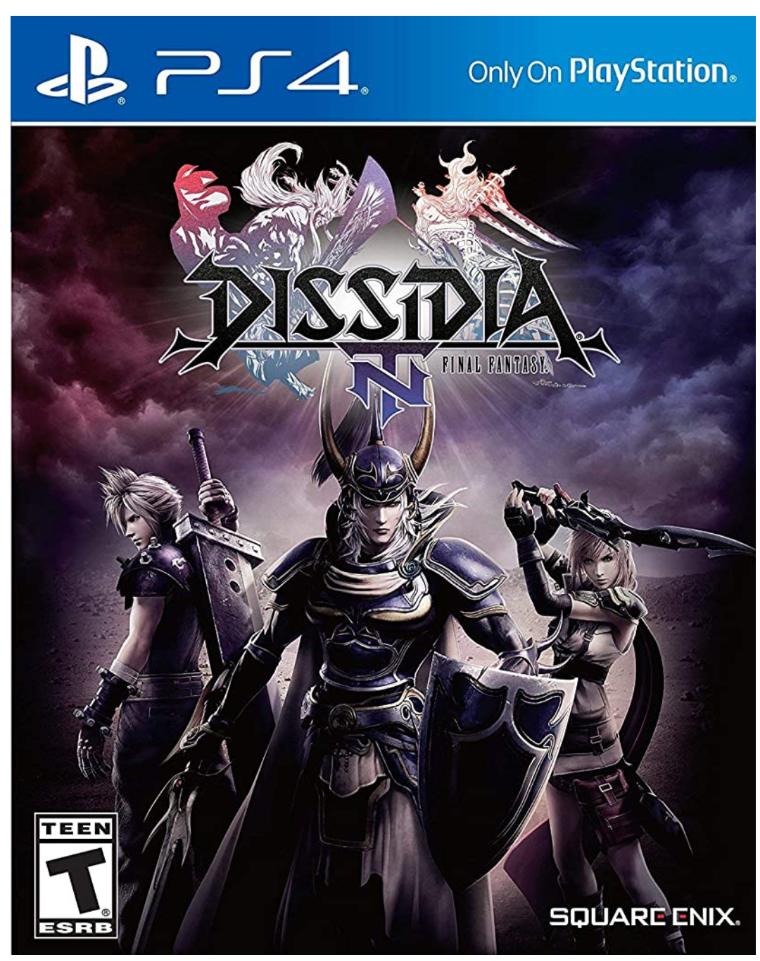 Amazon Dissidia Final Fantasy nt ps4