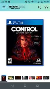 Amazon: Control ultimate edition ps4 /ps5