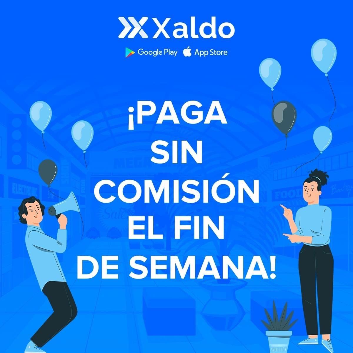 Xaldo: Pago de servicios sin cobro de comisión