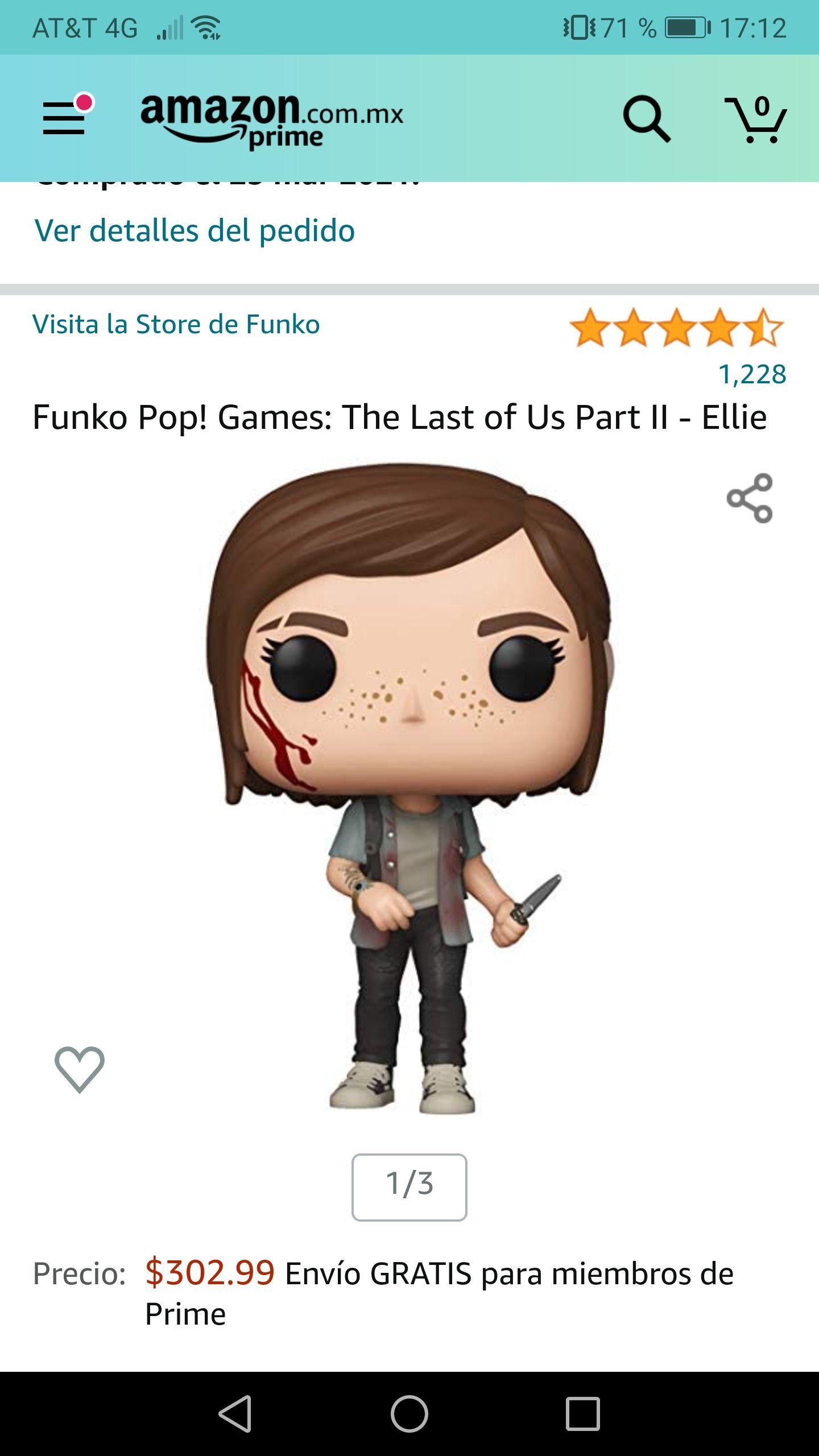 Amazon: Ellie Funko Pop The Last Of Us 2