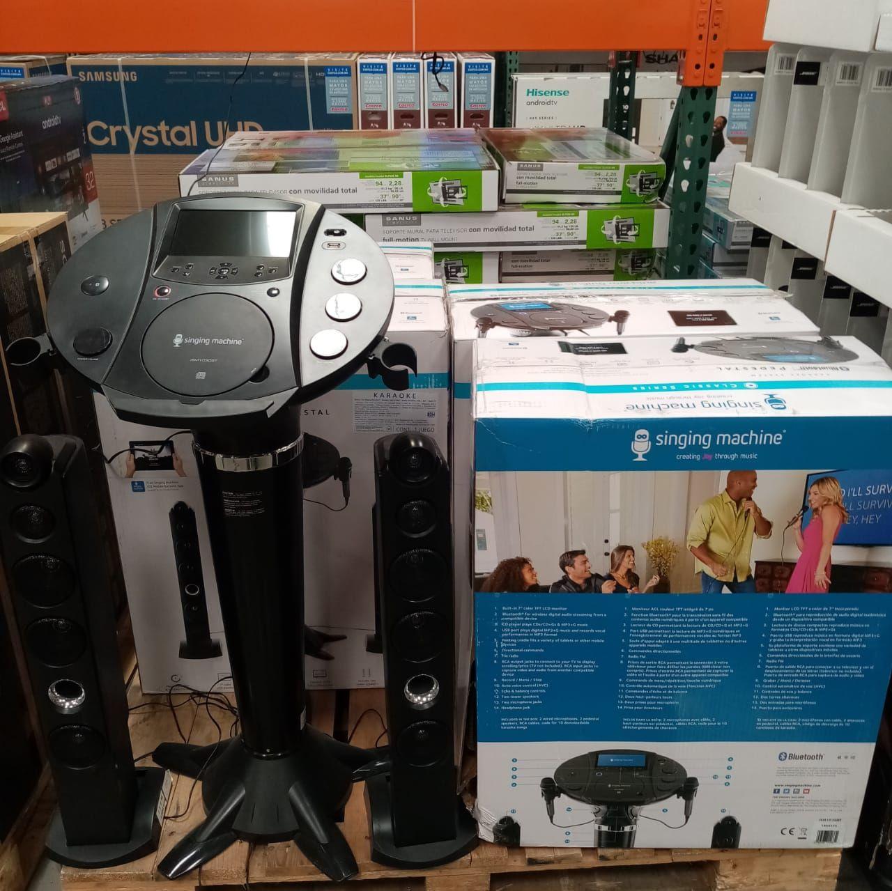 Costco: Singing Machine, Sistema de Karaoke Bluetooth