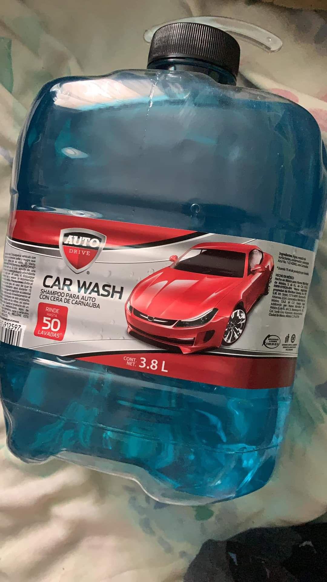 Bodega Aurrerá Shampoo para auto 3.8L