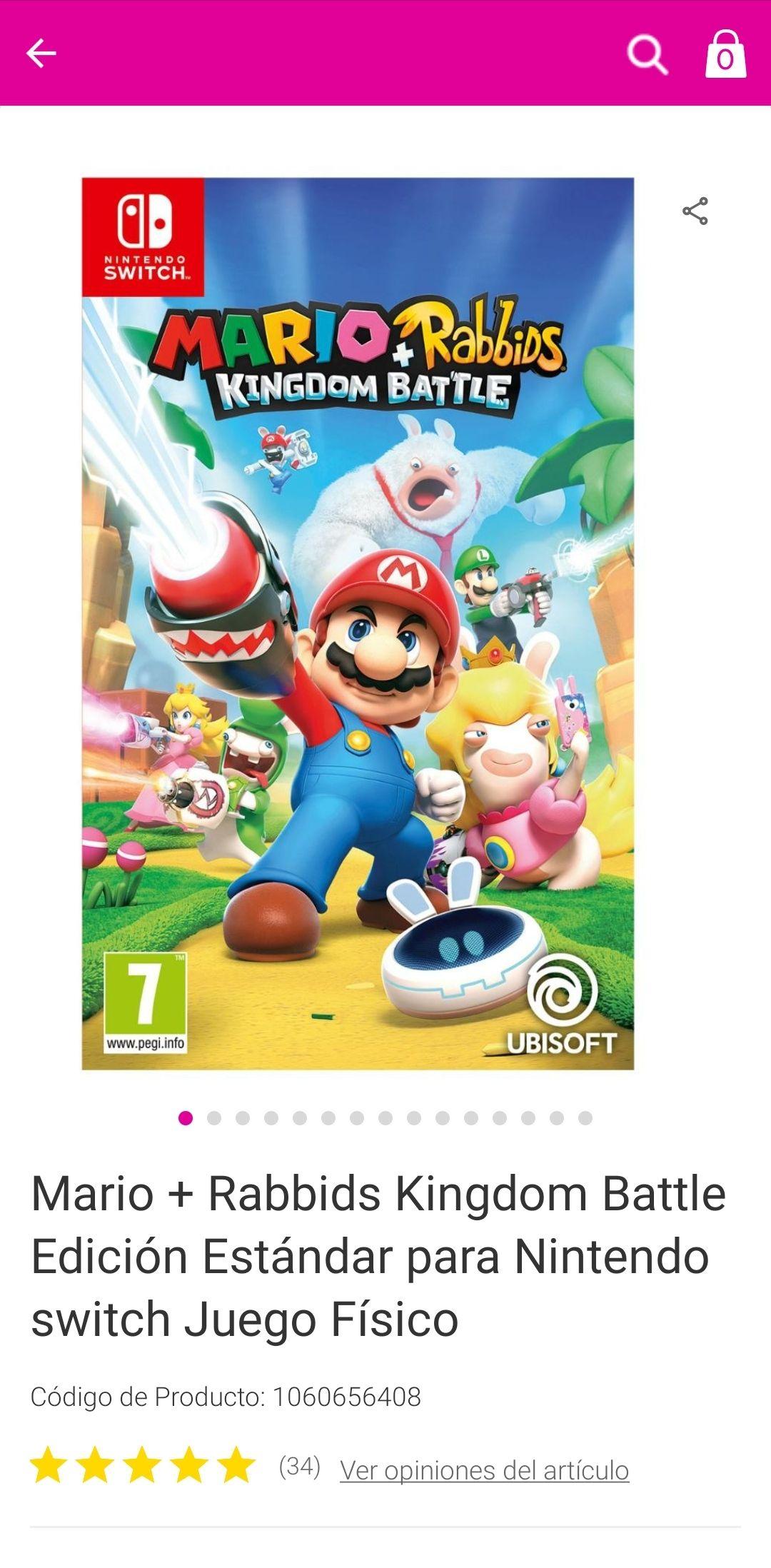 Liverpool: Mario + Rabbits Kingdom Battle switch