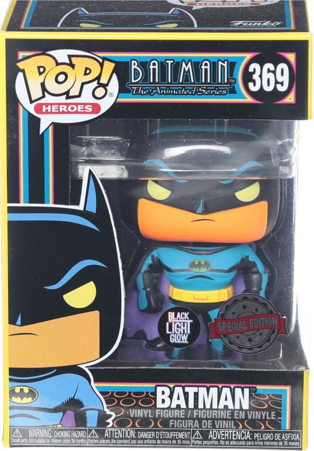 Liverpool: Funko pop Batman. Black Light Glow. Special Edition