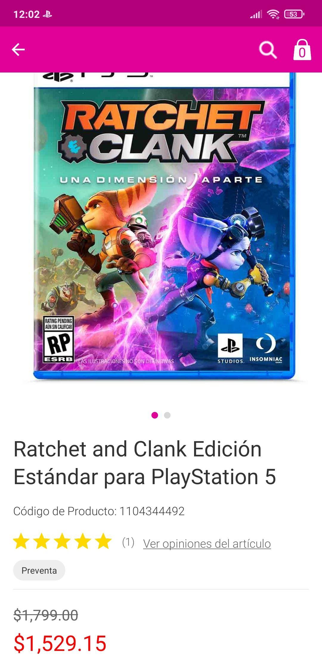 Liverpool: Ratchet & Clank: Rift Apart - Standard Edition - PlayStation 5