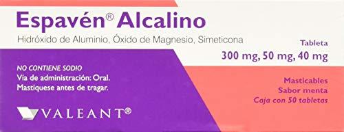 Amazon: Espaven Antiacidos Antiflatulentos Car, 50 Tabletas