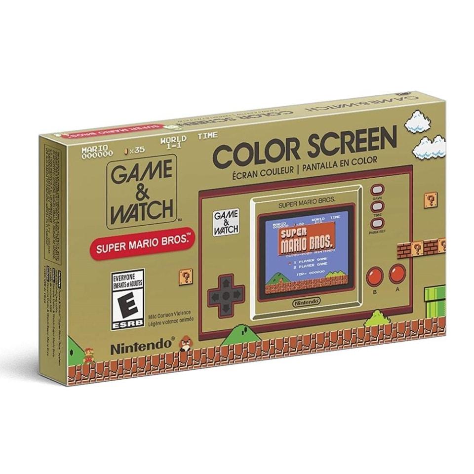 Bodega Aurrera: Consola Nintendo Portátil Super Mario Bros: Game & Watch