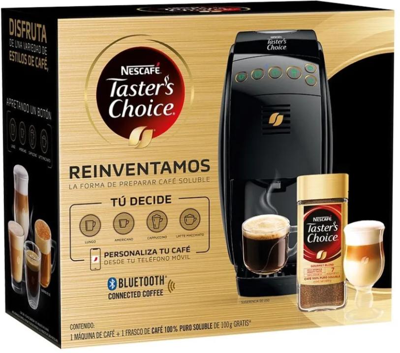 Walmart: Cafetera Taster's Choice Negra