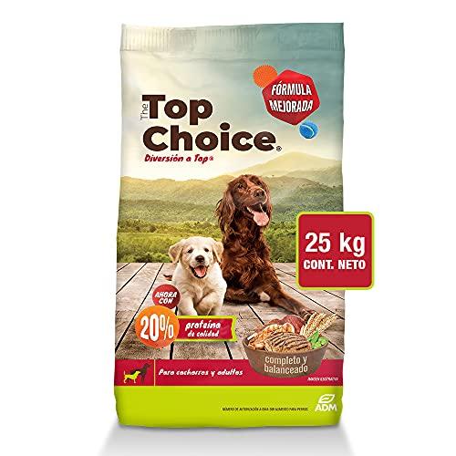 Amazon: The Top Choice 25 kg, alimento seco para perros cachorros y adultos
