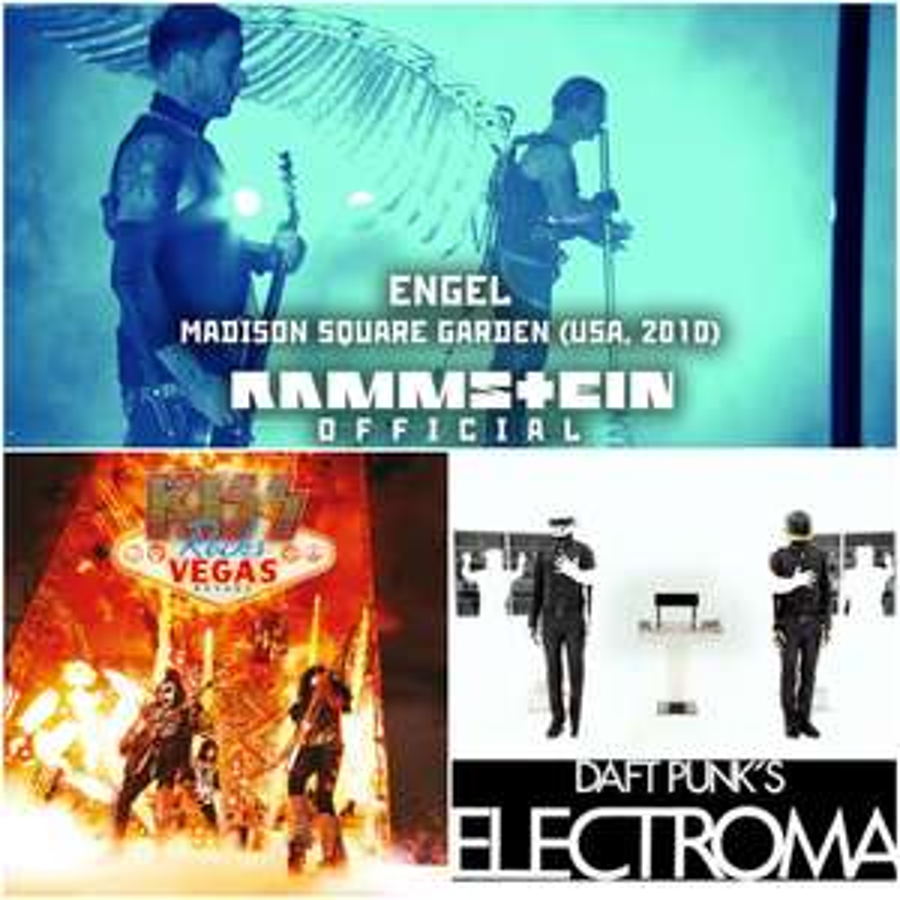 Arte.tv: GRATIS Rammstein En vivo desde el Madison Square Garden / Kiss Rocks Vegas / Daft Punk´s Electroma