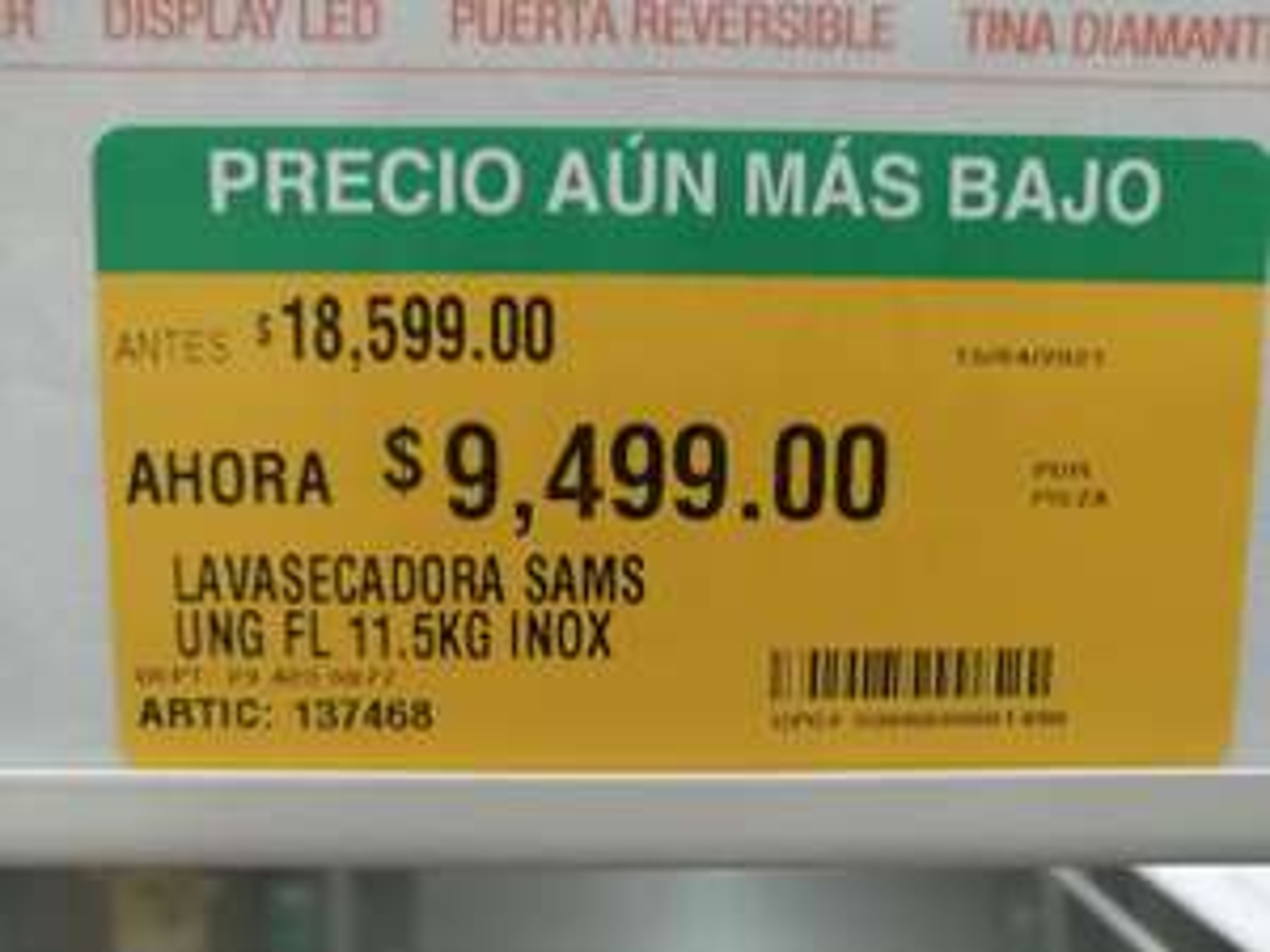 Home Depot: Lavasecadora Samsung 11.5 kg