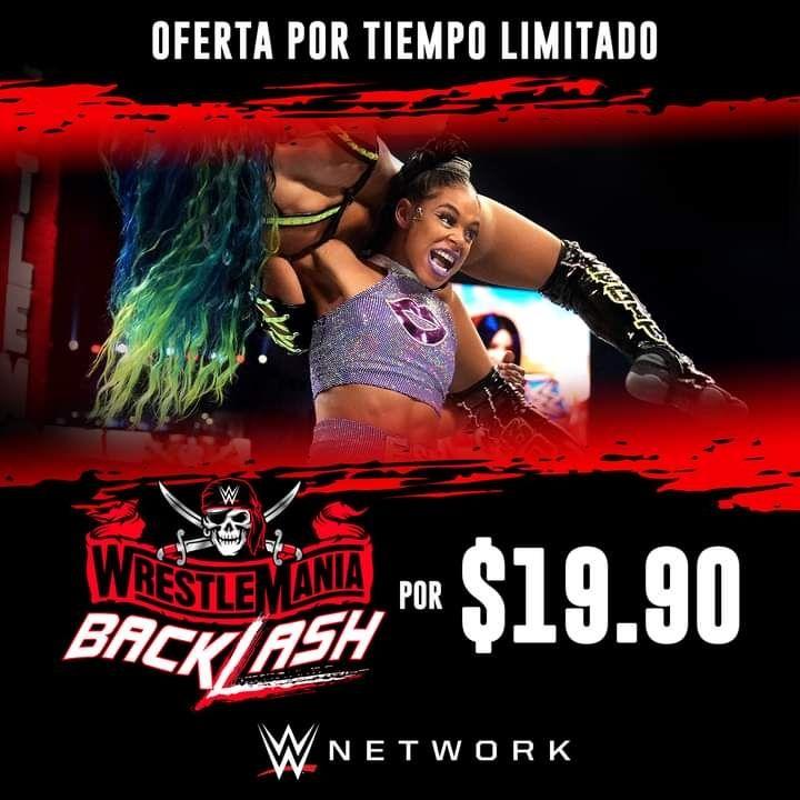 WWE NETWORK POR 20 PESOS SOLO EN MEXICO