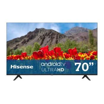 Sam's Club: Pantalla Hisense 70 Pulgadas UHD 4K Android TV 70H6500G