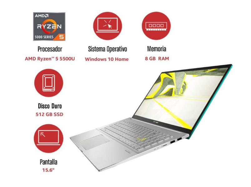 Sam's Club - Asus Vivobook Ryzen 5 5500U 8 GB RAM 512 GB SSD