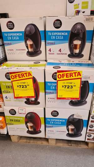 Soriana: Cafetera Dolce Gusto