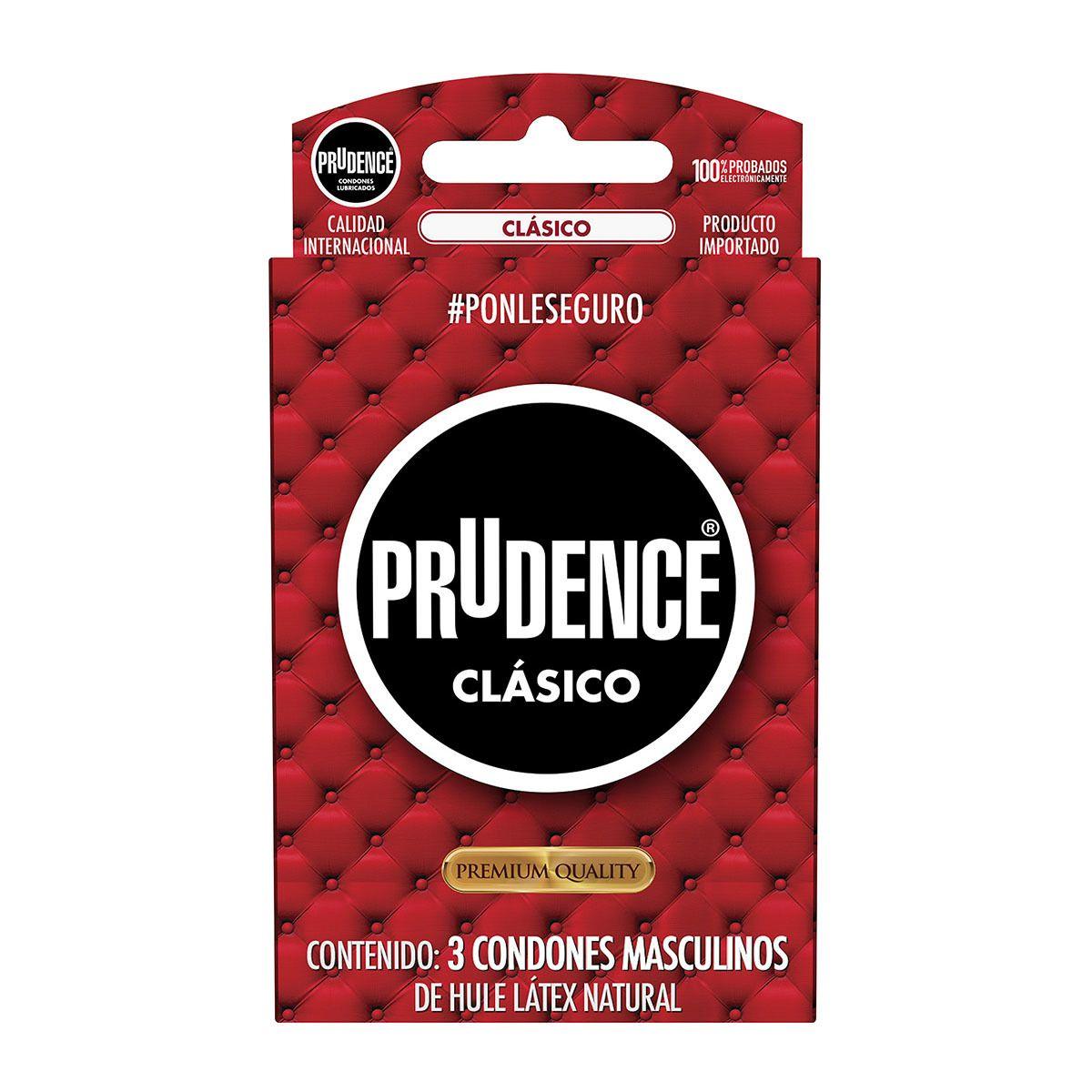 Farmacias del ahorro, 4 x 2 Condones Clásico Prudence