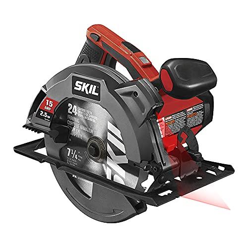 Amazon (importacion): SKIL 5280-01 sierra circular de 15 amperios, 7-1/4 pulgadas con guía láser
