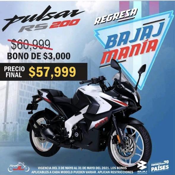 Bajaj, Motocicleta Pulsar RS 200