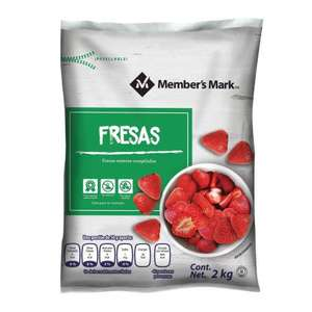 Sam's Club: En Linea: Fresas Congeladas 2 Kg