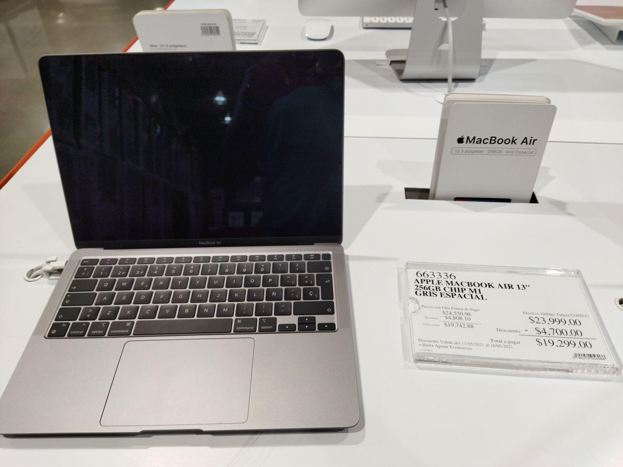 Costco: Macbook Air M1 8GB 256GB en oferta