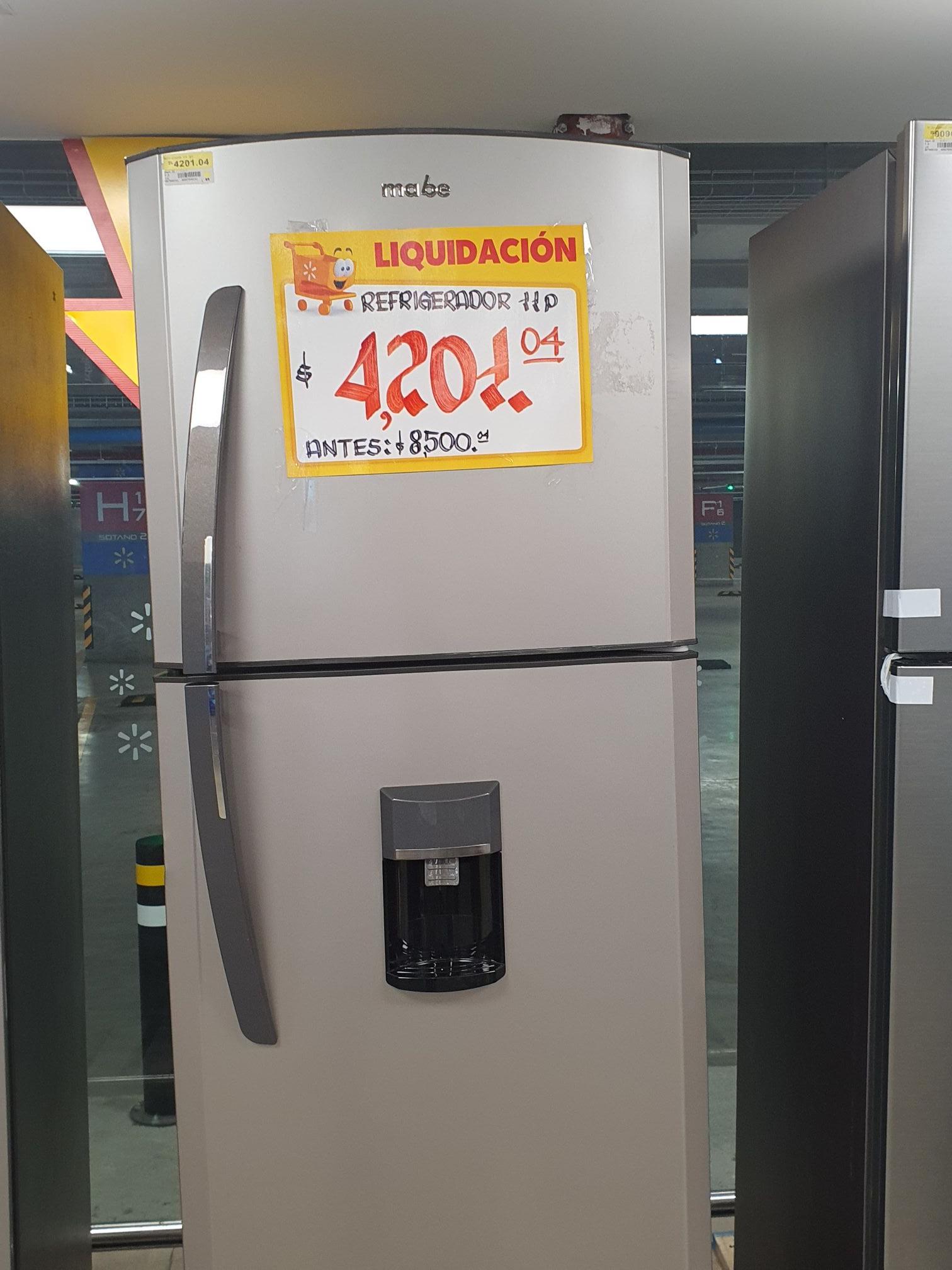 Walmart: Refrigerador mabe
