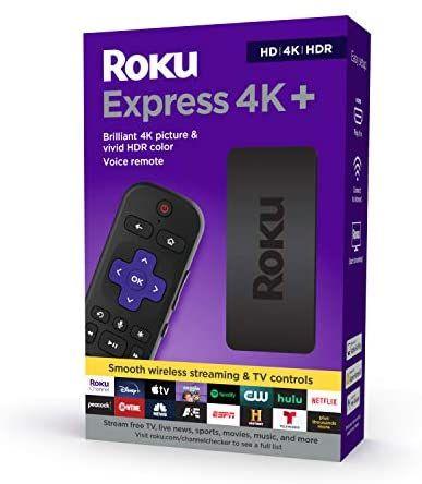 Amazon: Nuevo Roku Express 4k+ | Control avanzado | Versión 2021