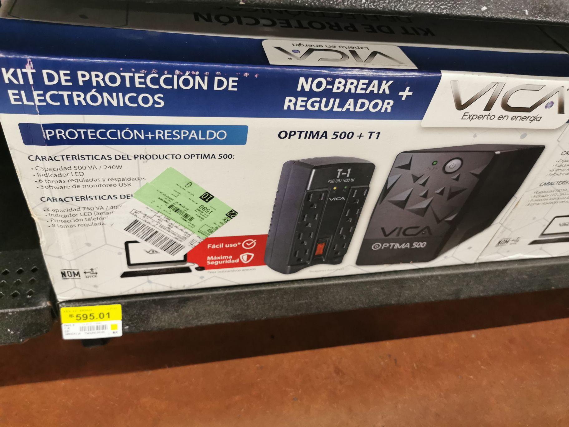 Walmart: No Break más regulador Vica