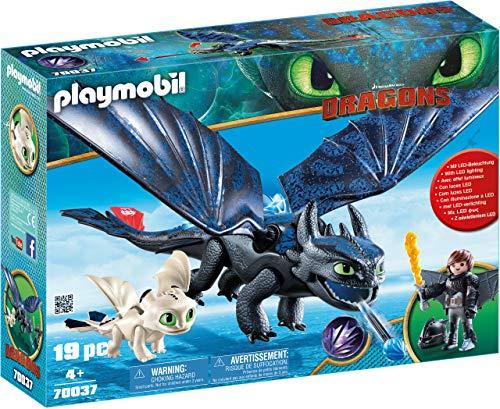 Amazon Playmobil Dragons: Chimuelo con HIPO en Traje de Dragón