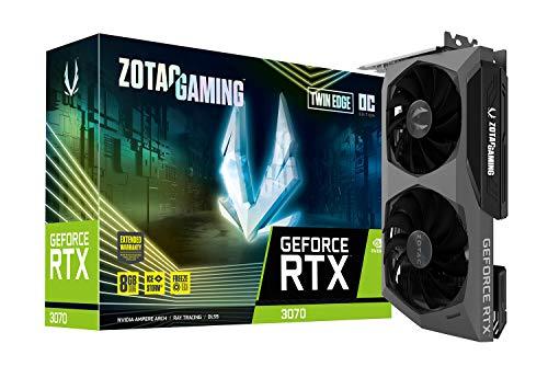 Amazon: Zotac Gaming GeForce RTX 3070 Twin Edge OC 8 GB GDDR6 256-bit 14 Gbps PCIE 4.0