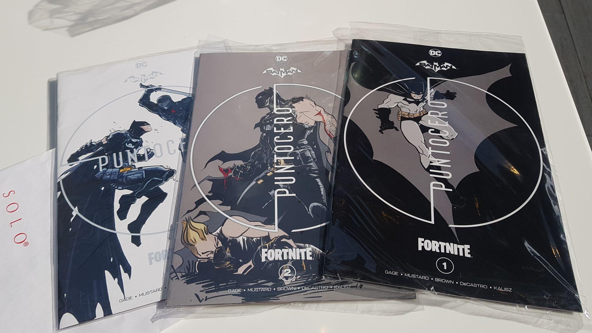 Sanborns Satélite: Batman/Fortnite 1-3