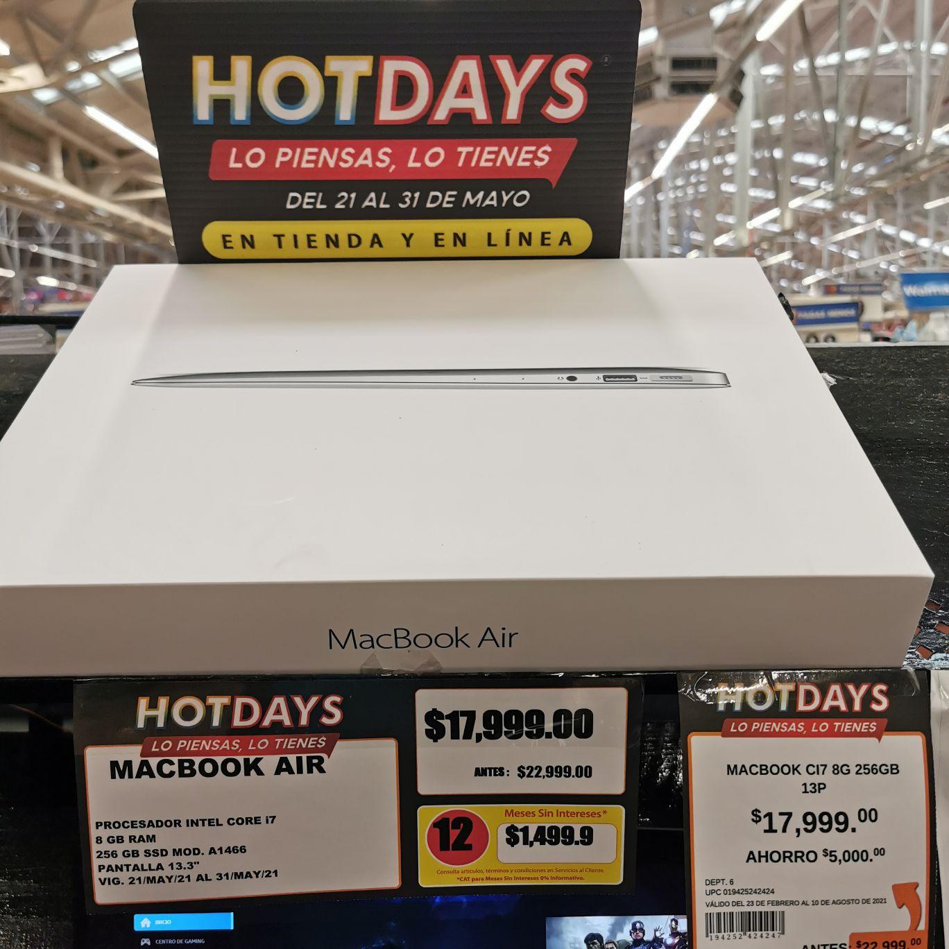 Walmart Plaza Tepeyac: Macbook Air Mod. A1466
