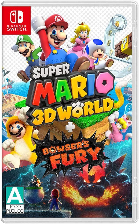 Amazon:Super Mario 3D World + Bowser's Fury - Standard Edition - Nintendo Switch