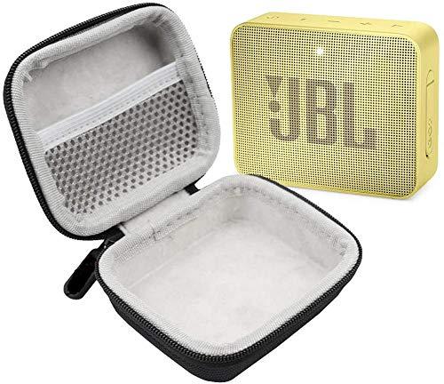 Amazon JBL GO 2 IPX7 Altavoz Bluetooth ultraportátil impermeable con carcasa rígida de lujo (amarillo)