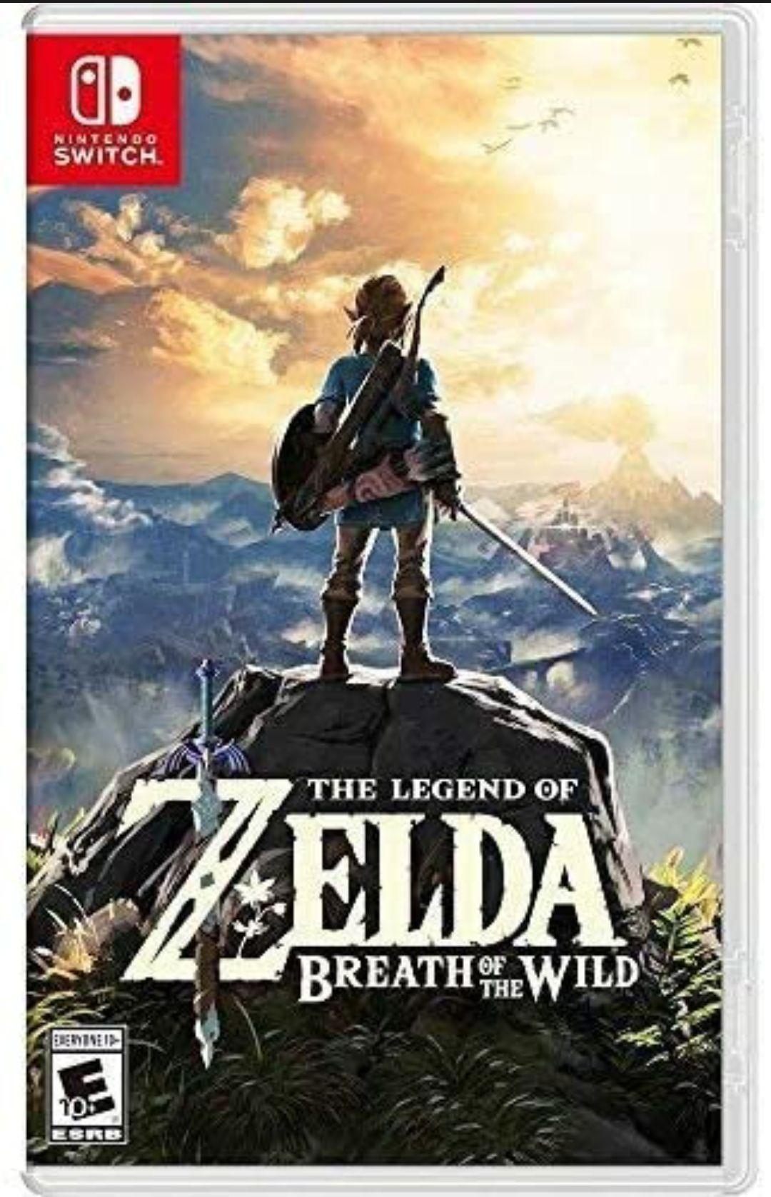 Amazon: The Legend of Zelda: Breath of the Wild - Nintendo Switch - Standard Edition