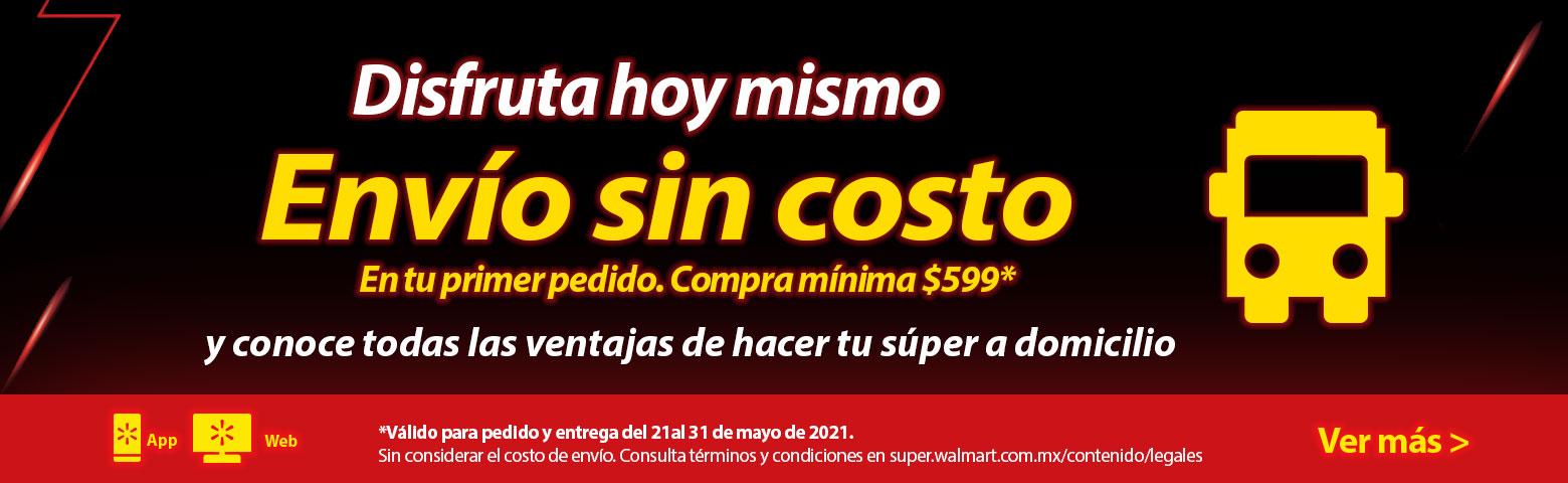 Walmart Super: Envio gratis durante la Hot Sale (compra minima $599.00)