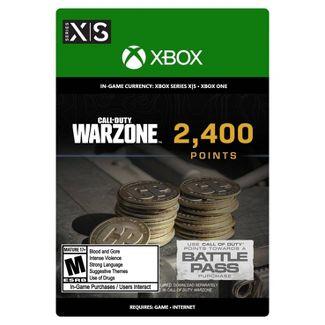 Target USA: Tarjeta digital de 2400 COD Points a mitad de precio para Xbox