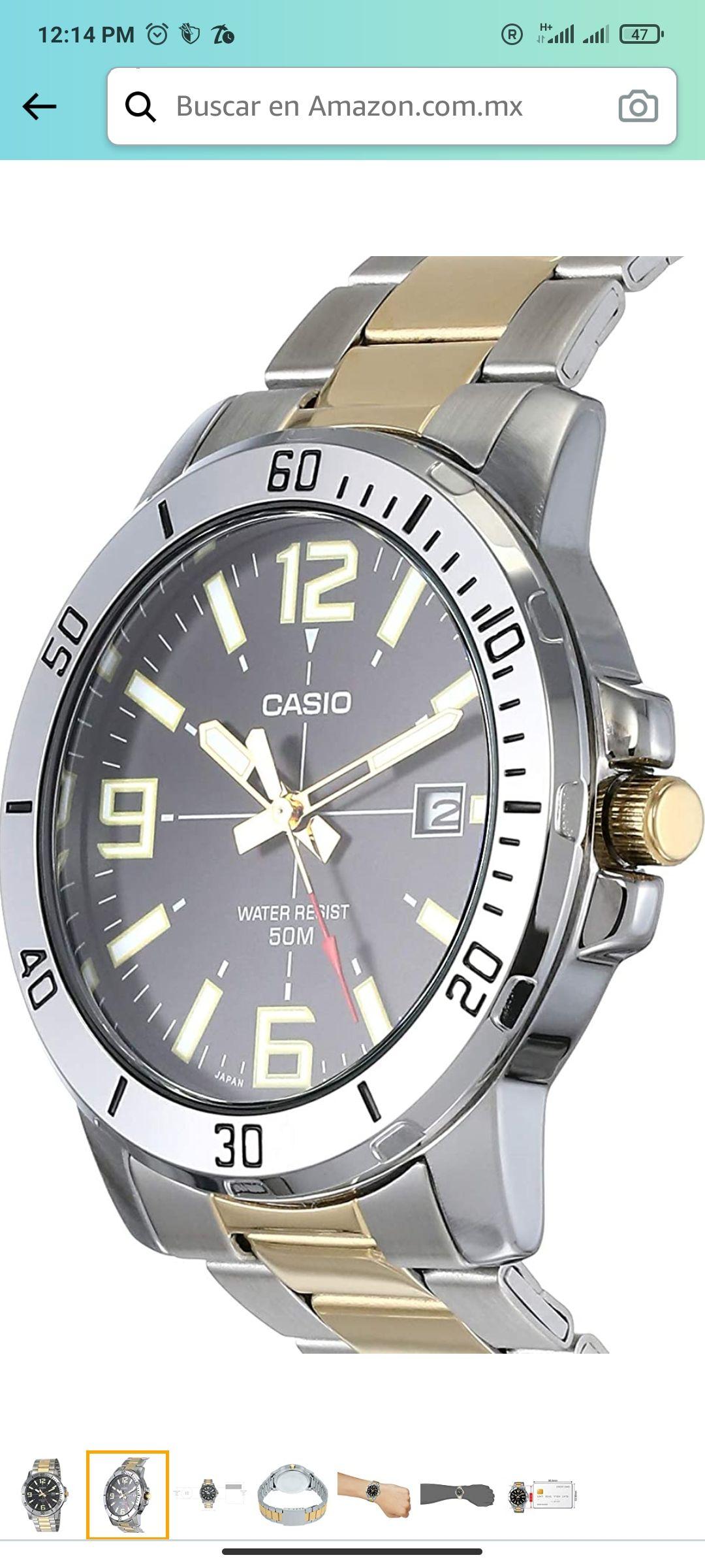 Amazon: Reloj Casio. 43mm