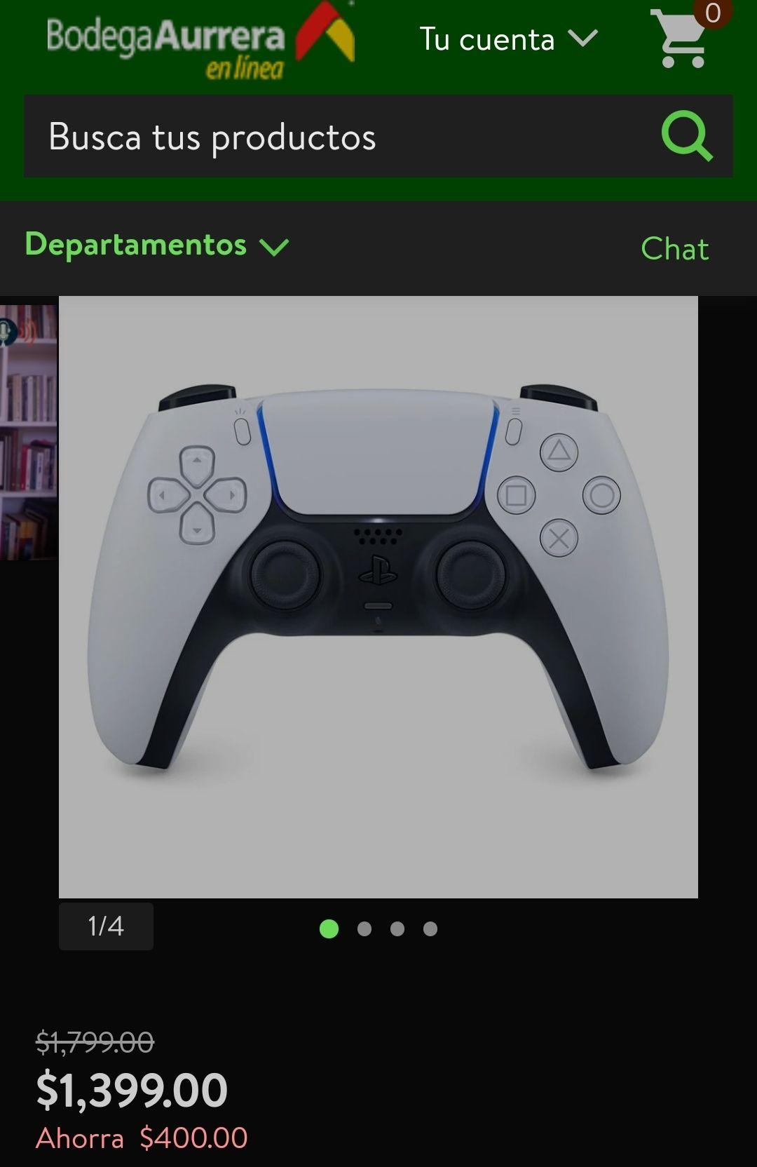 Bodega Aurrera: Control Inalámbrico PlayStation 5 DualSense