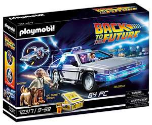 Amazon: Playmobil Volver al Futuro Delorean